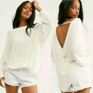 NWT Free People Shimmy Shake Top Lg